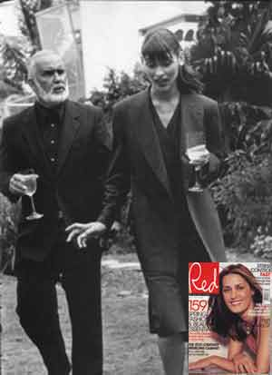 Sean Connery lookalike for Red Magazine in London